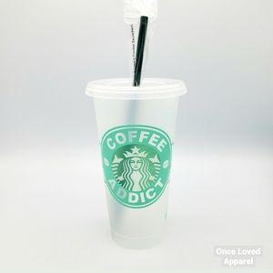 Starbucks custom reusable 24 oz. cold drink cup